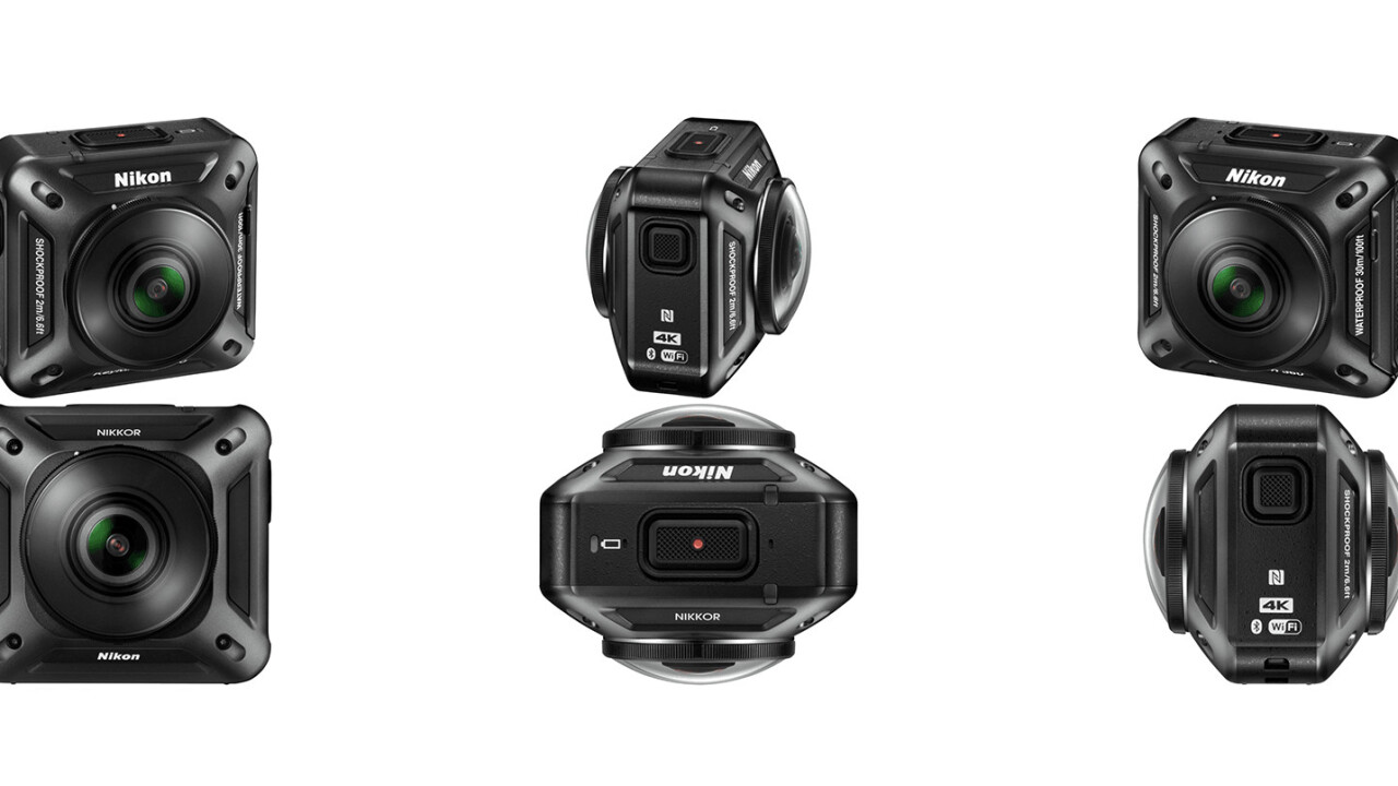 Nikon's $500 360-degree action cam aims to bring VR to the masses