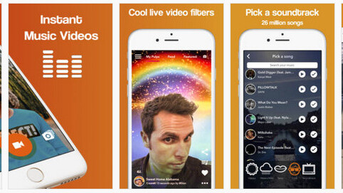 Pulp lets you create your own short music videos straight from your iPhone