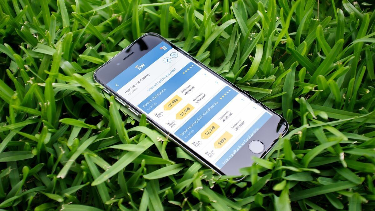 ServiceWhale offers an app-based solution to home improvement