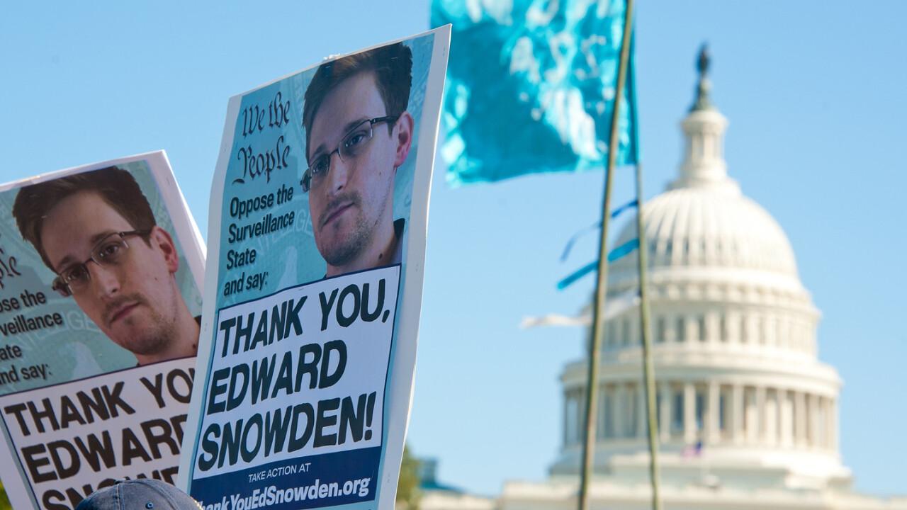 ACLU seeks an Obama pardon for NSA whistleblower Edward Snowden