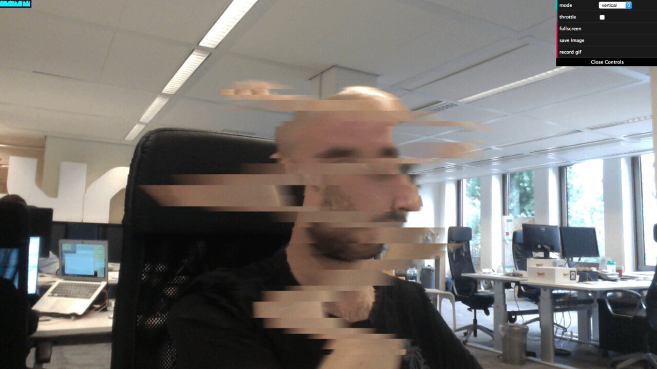 This awesome webcam filter turns real life into the Matrix