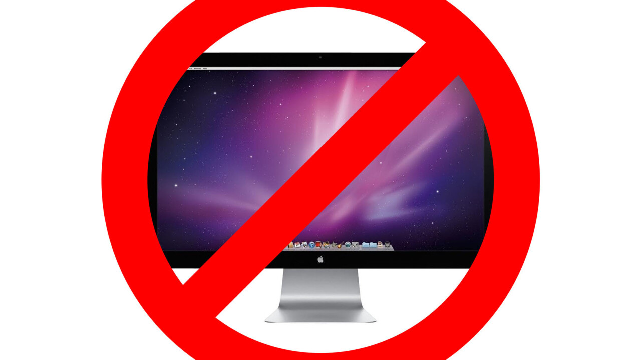 Apple will no longer make external monitors