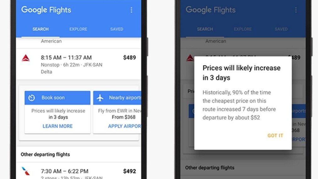 New Google Flights alerts make sure you don't pay sky high ticket prices