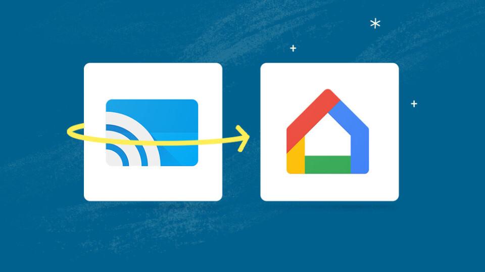 Google Cast app has a new name and logo