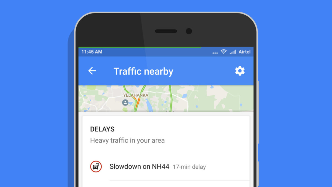 Google Maps for Android adds a one-tap shortcut to view traffic around you