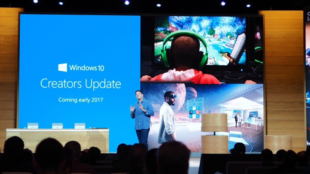 Microsoft announces huge Windows 10 'Creators Update,' coming next year