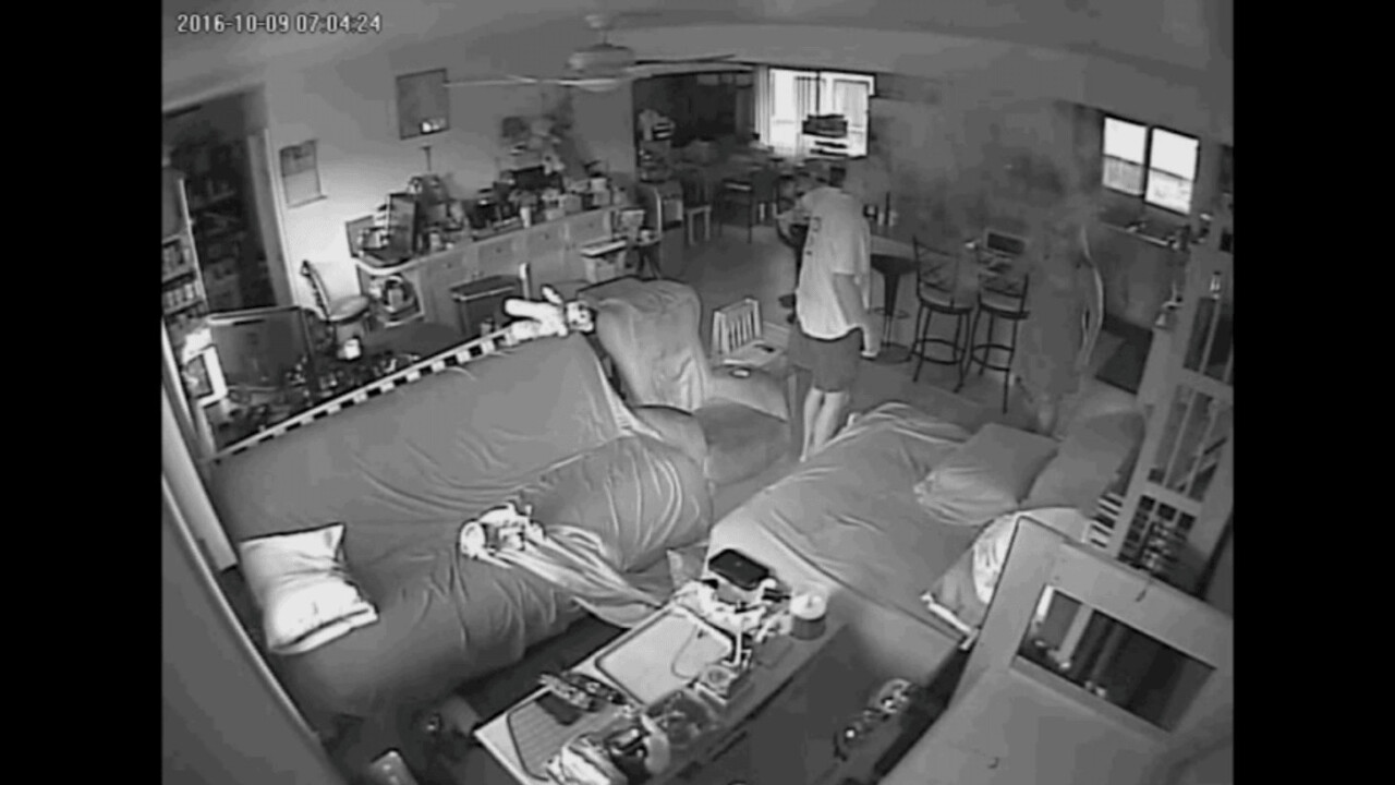 Watch: Samsung Note 7 fire caught on security camera