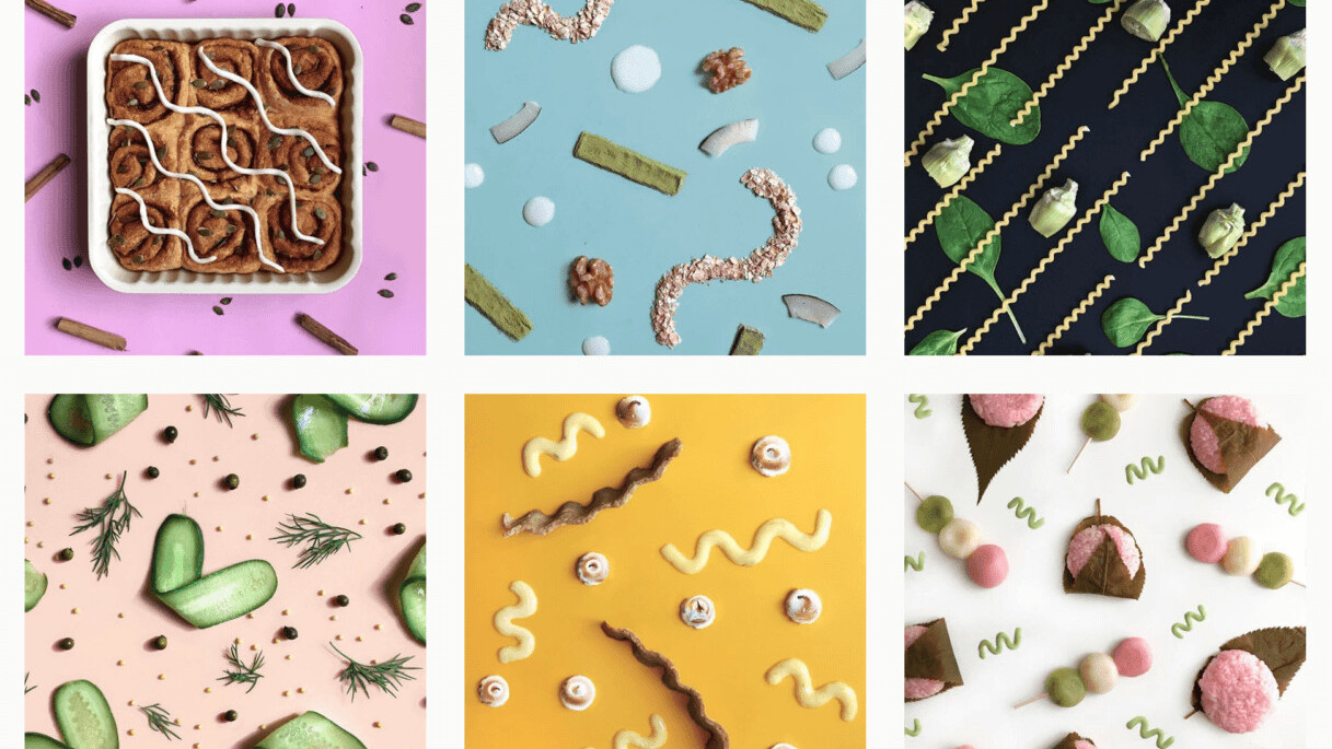 This Instagram account combining food with design will make you hungry