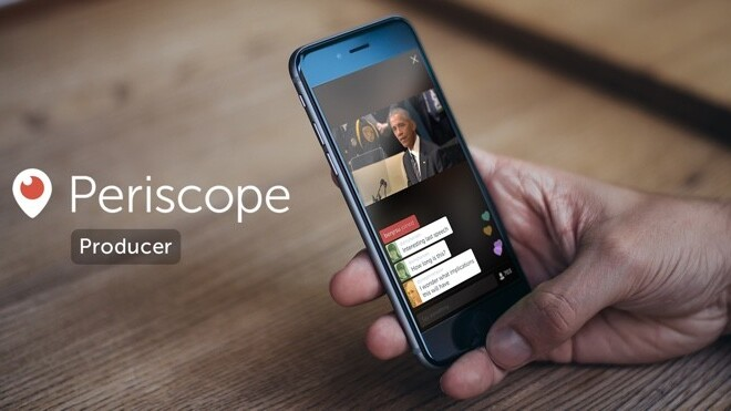 Twitter announces Periscope Producer for streams with professional equipment