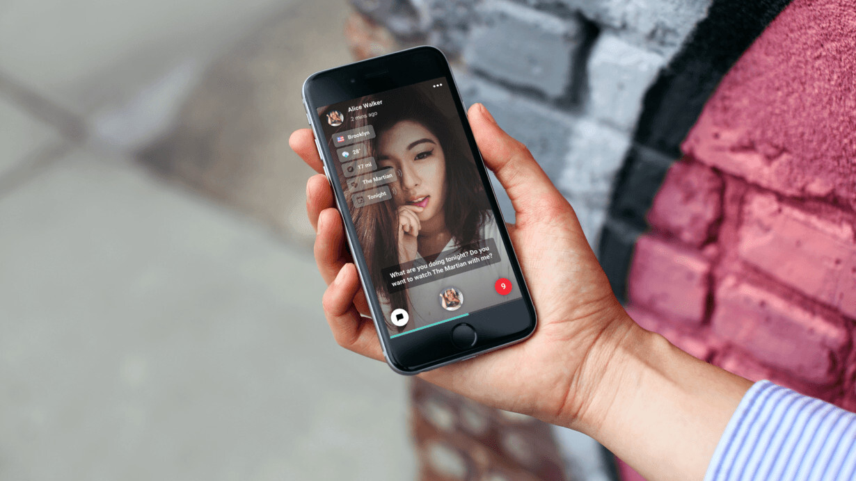 This augmented video messenger app knows what you're saying