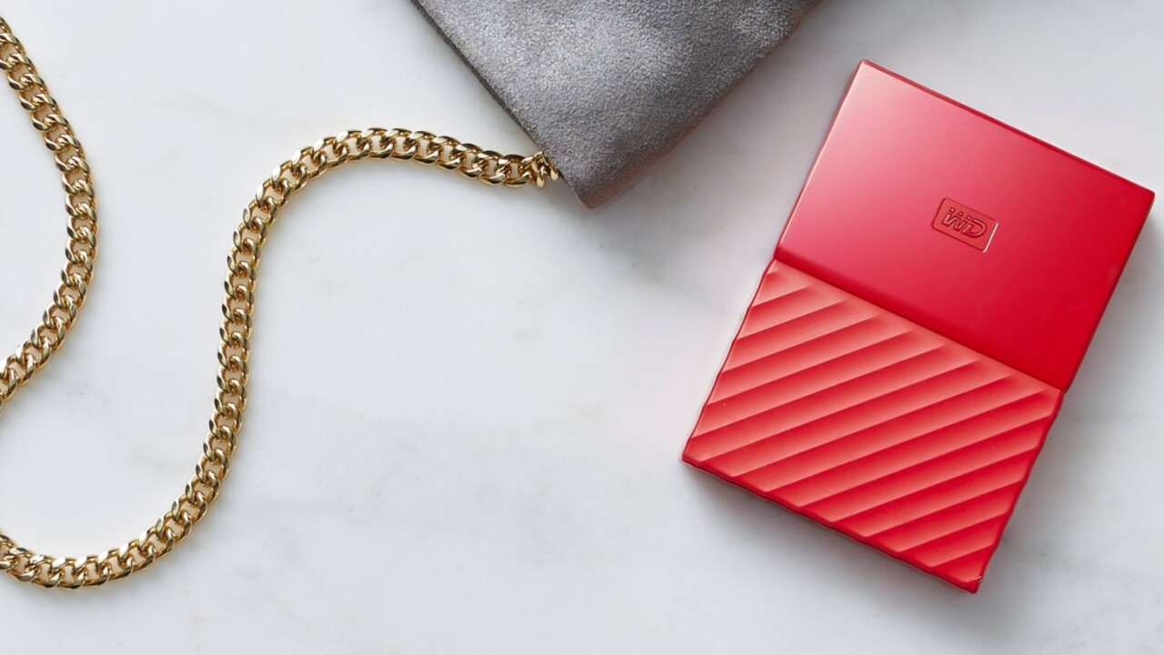 Western Digital tries real hard to make hard drives exciting with shiny colors