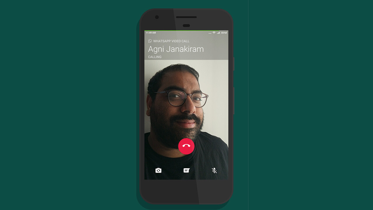 WhatsApp can now make video calls on Android