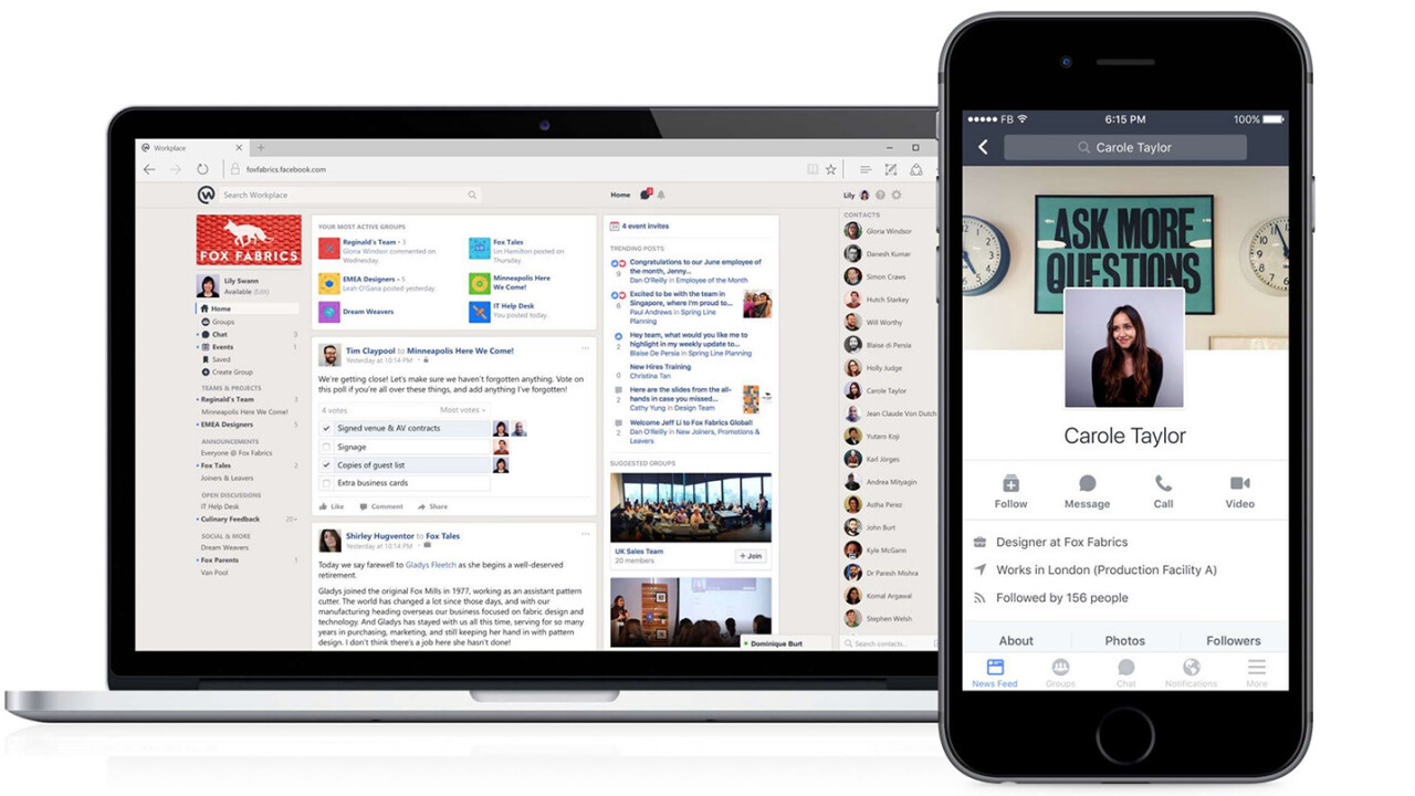 Facebook's social network for businesses will soon be available for free