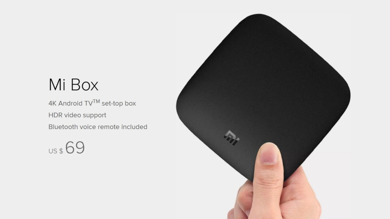 Xiaomi finally launches its budget 4K Android TV box in the US