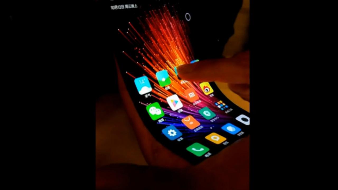 Xiaomi has reportedly made a flexible touchscreen