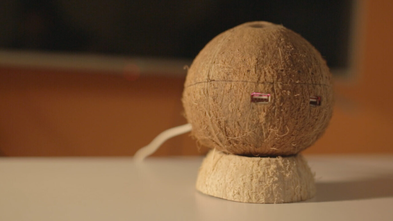 This connected coconut is looking to replace your Chromecast