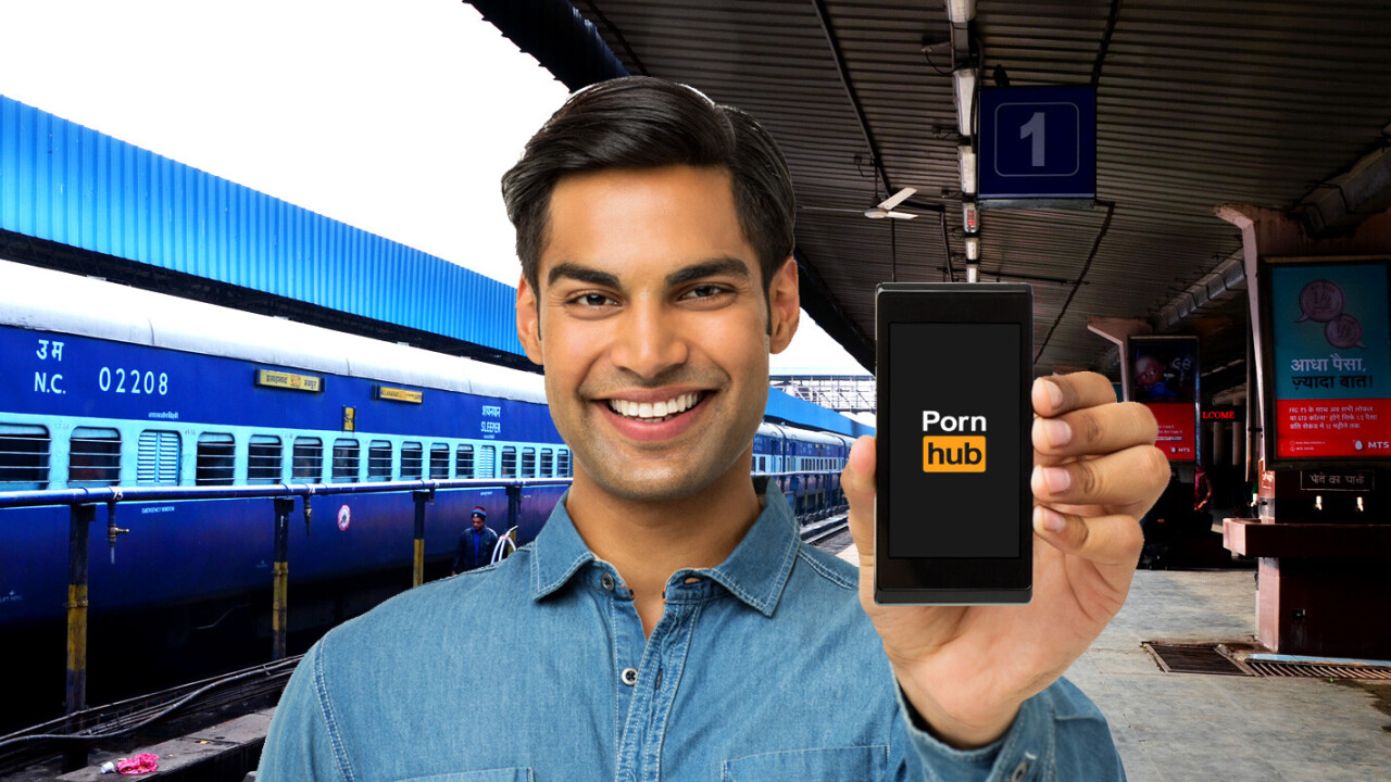 India is using its free public Wi-Fi to watch porn while waiting for the train [Update]