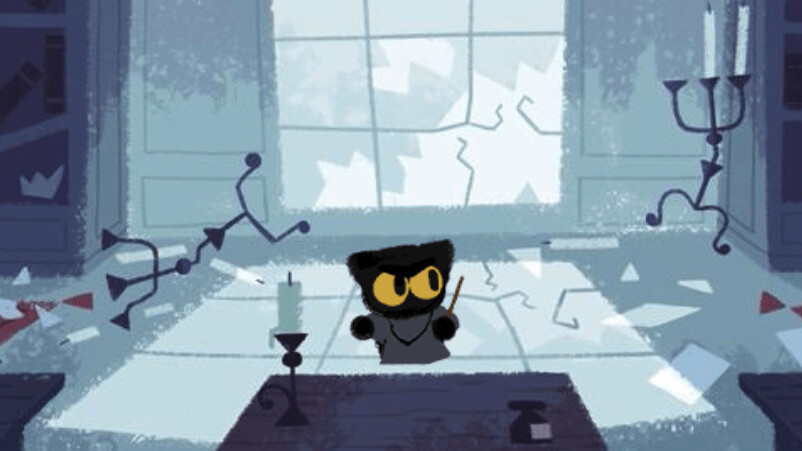 I can't stop playing this year's Halloween Google Doodle