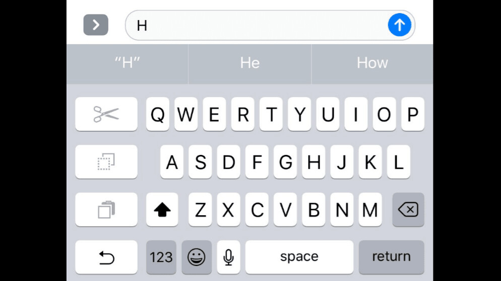 iOS has a hidden one-handed keyboard – but you can't use it just yet