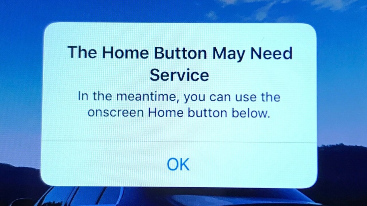 Apple's got a quick fix if your iPhone 7 home button stops working