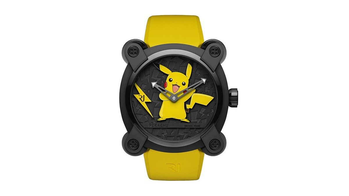 Nobody will ever need this ugly $20,000 Pokémon watch