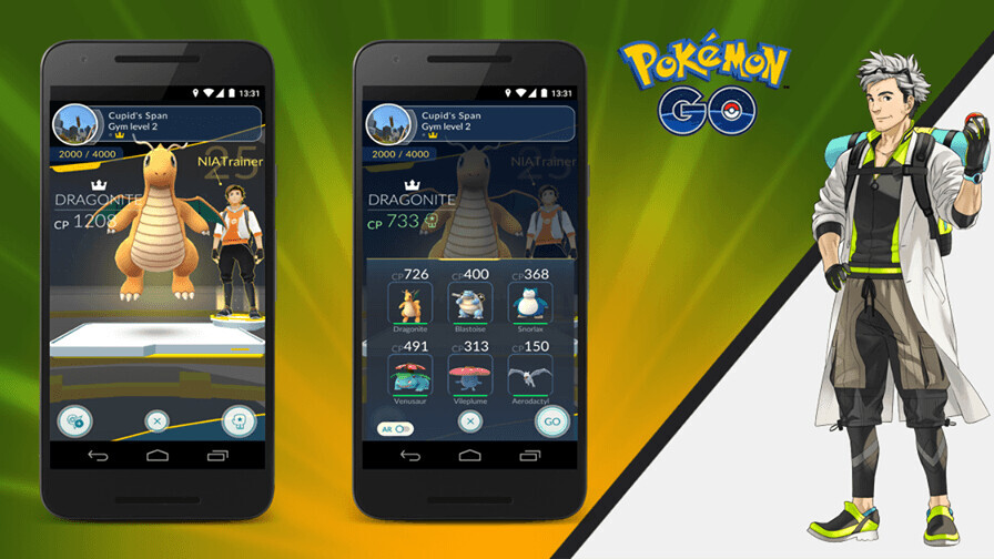 Pokémon Go update is giving trainers a fair chance at the gym