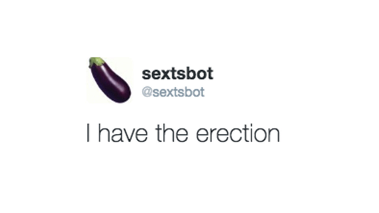 This weird Twitter bot generates the best and worst sexts you'll ever see
