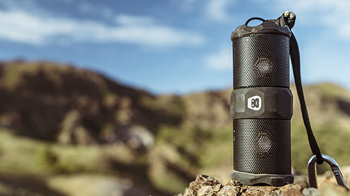 This speaker will keep the beat building, no matter how extreme the adventure