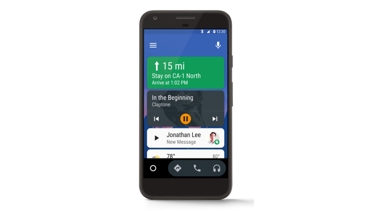 Android Auto will turn your phone into an in-dash display for your car
