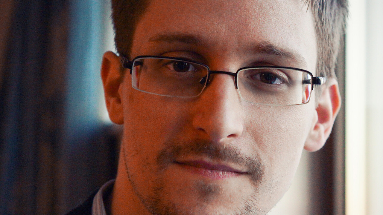 Watch Snowden sound off on Trump live on November 10