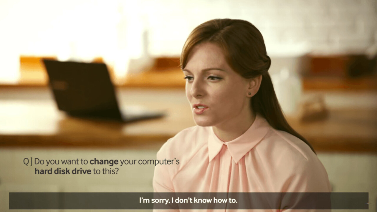 Why are technology adverts so terrible?