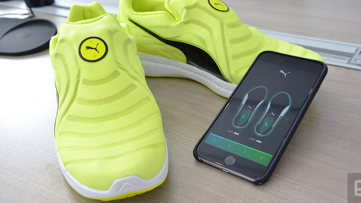 Puma takes a bold step in the self-lacing shoe business