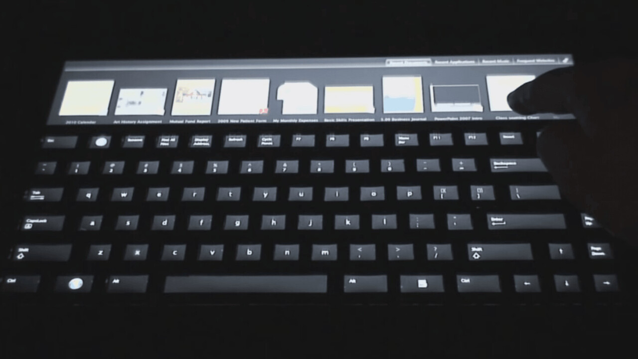 Microsoft had plans for its own version of the MacBook Touch Bar – 15 years ago