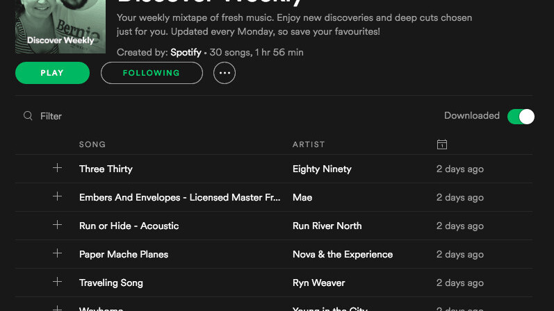 Never lose your Discover Weekly playlist again with this IFTTT Applet