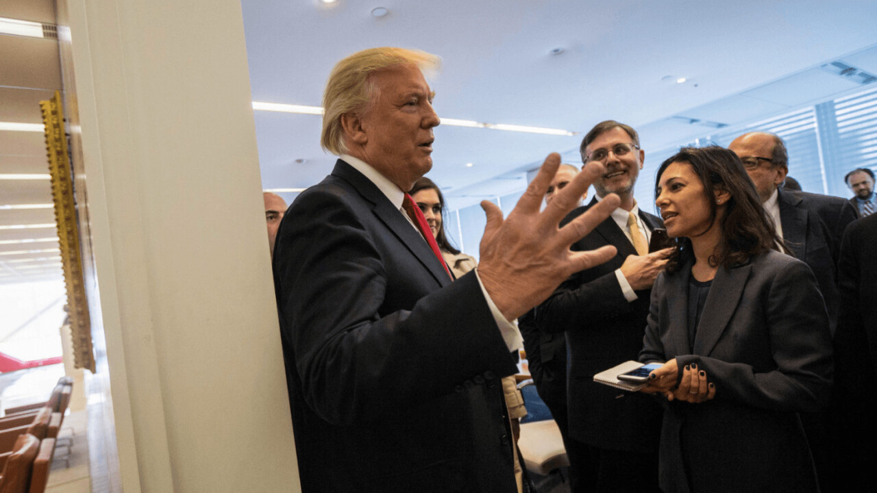 Trump promises 'very large tax cut' if Apple makes products in the US