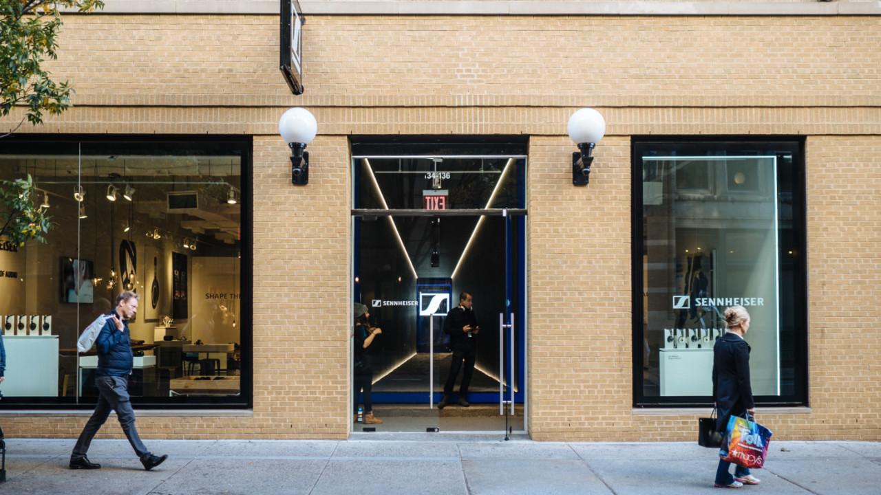 Sennheiser's New York store lets anyone test drive $55,000 headphones