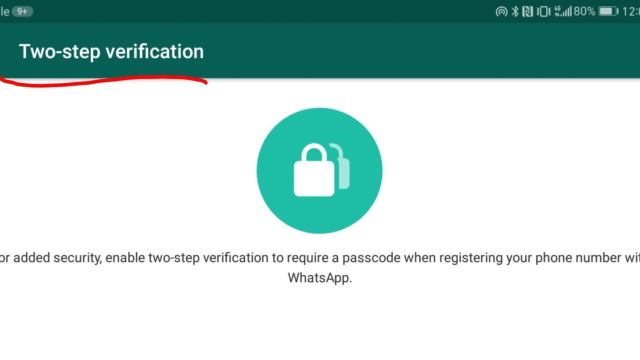 WhatsApp beefs up security with two-step verification