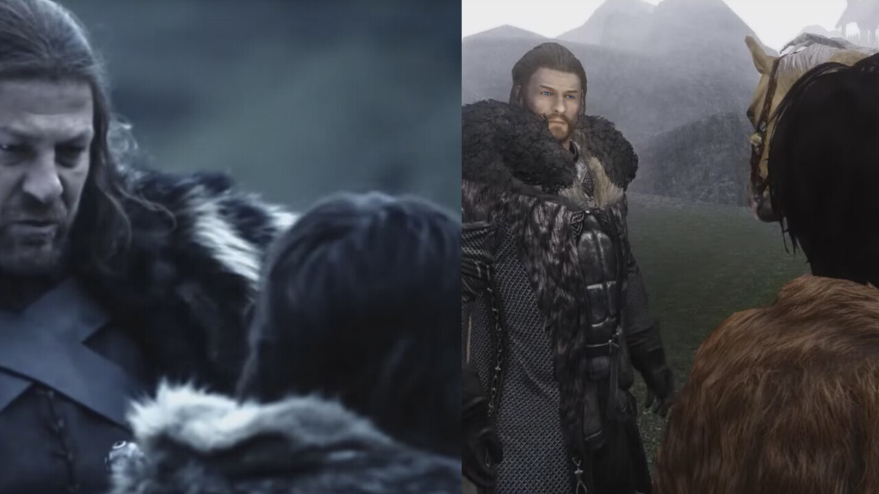 Game of Thrones gets a marvelous remake in Skyrim