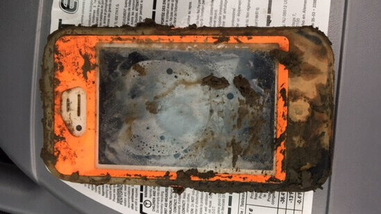 This iPhone still works after a year on the bottom of an icy lake