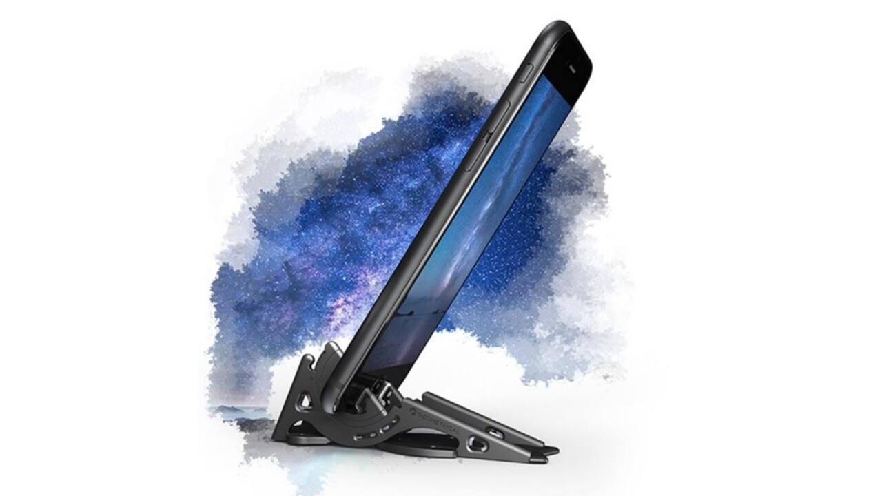 This amazing wallet-sized smartphone tripod will arrive just in time for the holidays
