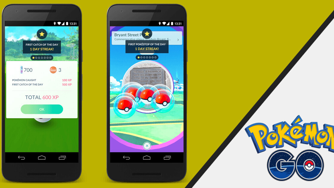 Pokemon Go update will keep players coming back with fresh daily bonuses
