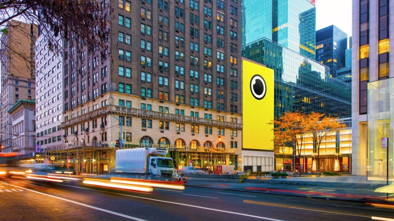 Snapchat's Spectacles just landed in a New York pop-up store
