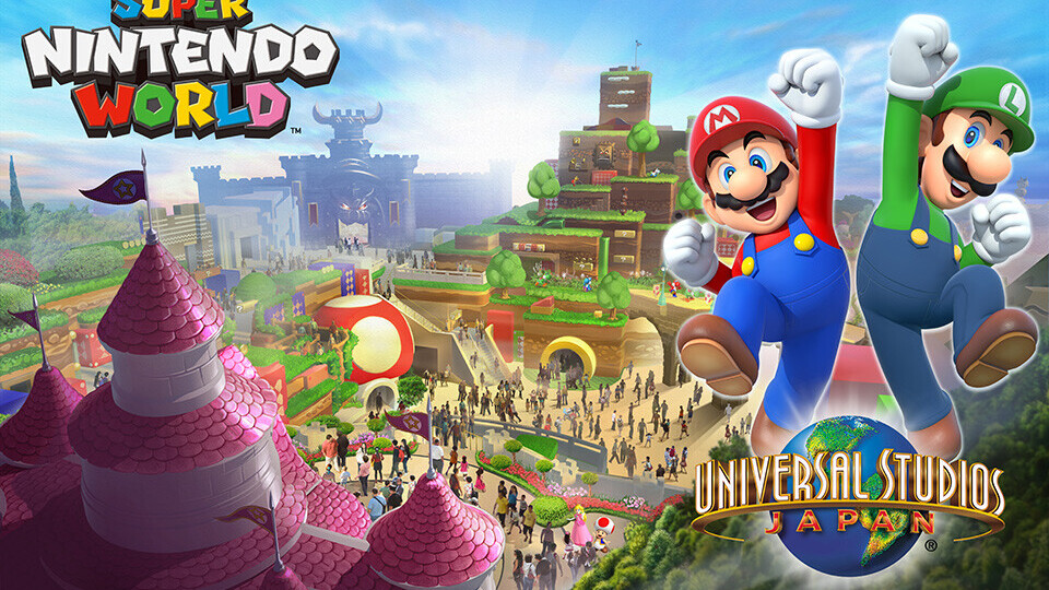 Nintendo to launch its first Super Mario theme park in Japan by 2020
