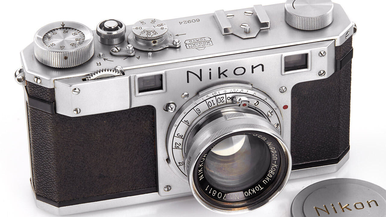 The oldest remaining Nikon camera scooped over $400,000 at auction