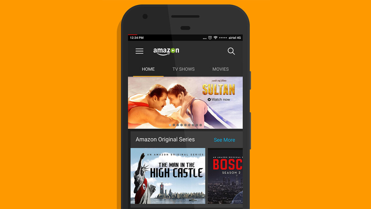 Amazon Prime Video comes to India [Update: It's gone global]