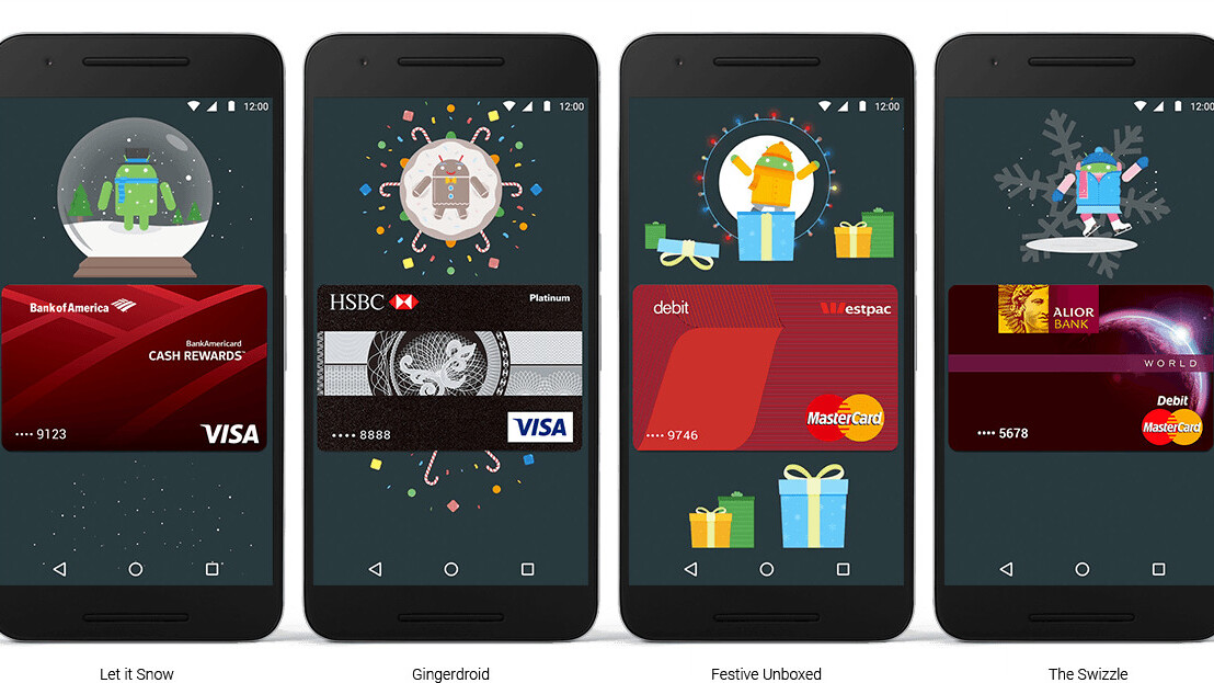 Google to reward UK Android Pay users over the festive season