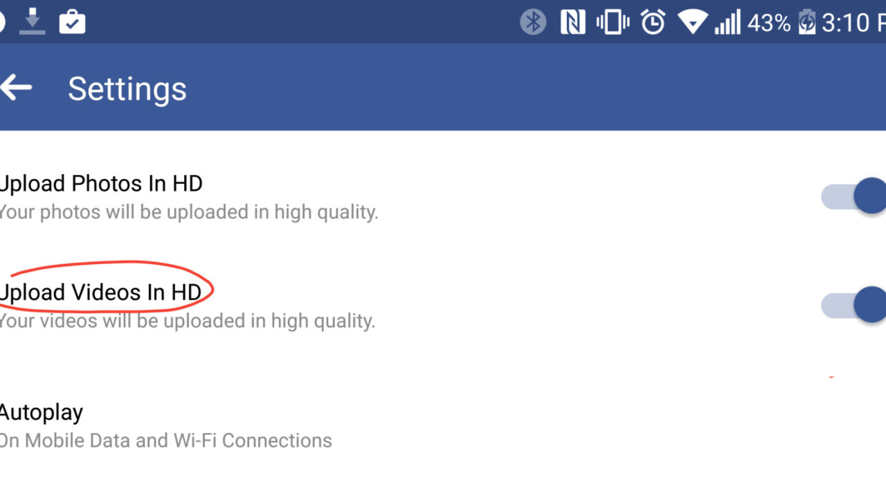 Facebook adds HD video uploads and tests floating windows on Android