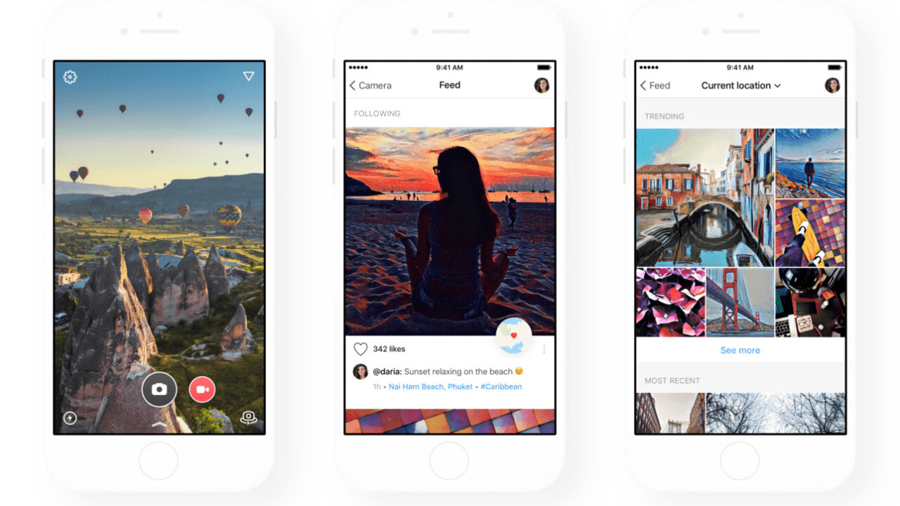 Prisma's filter app gets a clever location-based photo feed in huge update