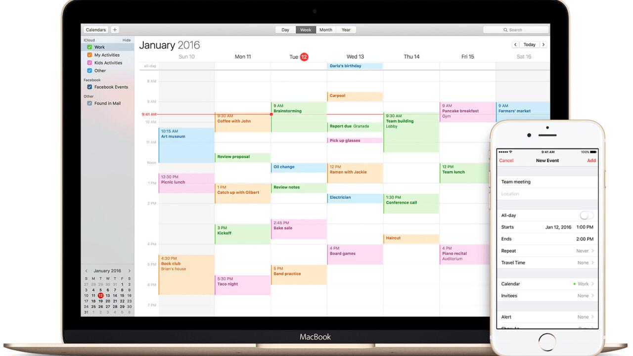 Apple now lets you report iCloud calendar spam