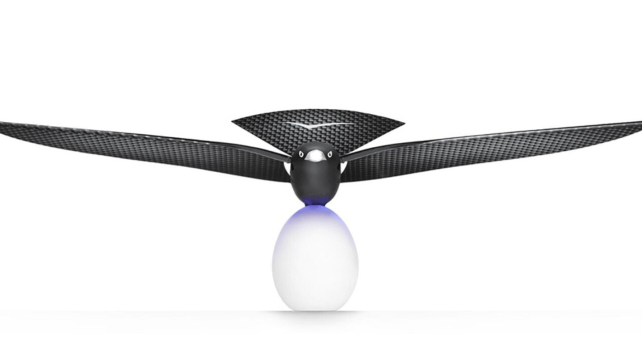 Say hello to the drone that even birds can't distinguish from the real thing